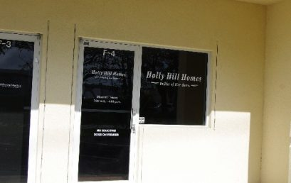 Holly Hill Homes New Office